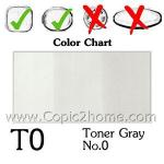 T0 - Toner Gray No.0