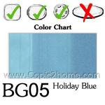 BG05 - Holiday Blue