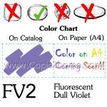 FV2 - Fluorescent Dull Violet