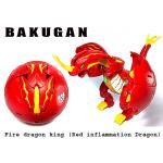 บาคุกันยักษ์ Bakugan Bakumorph Pyrus Drago Ball Deka Red Dragon Big