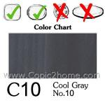 C10 - Cool Gray No.10