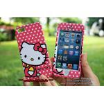 เคส iPhone5s/5 ฝาประกบหน้าหลัง - คิตตี้