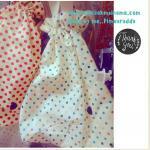 กระเป๋าผ้า handmade ขนาด35*35cm ค่ะ) คละสีและลายค่ะ~ผ้าในไทย