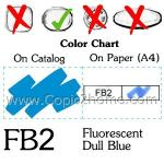 FB2 - Fluorescent Dull Blue