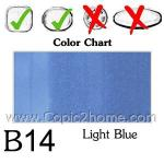 B14 - Light Blue