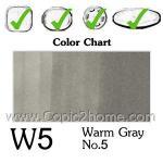 W5 - Warm Gray No.5