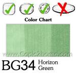 BG34 - Horizon Green