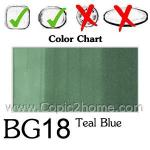 BG18 - Teal Blue