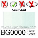 BG0000 - Snow Green