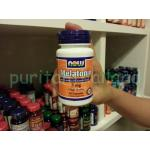 Now Foods Melatonin 3 mg. 60 capsules 1 กระปุก