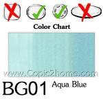 BG01 - Aqua Blue