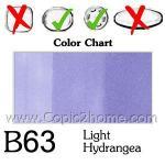B63 - Light Hydrangea