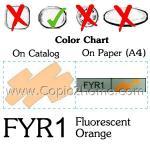 FYR1 - Fluorescent Orange
