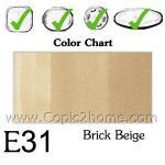 E31 - Brick Beige