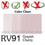 RV91 - Grayish Cherry