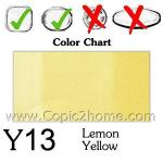 Y13 - Lemon Yellow