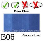 B06 - Peacock Blue