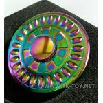 Fidget Spinner [รุ้ง] ลายกงจักร-2