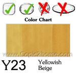 Y23 - Yellowish Beige
