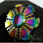 Fidget Spinner [รุ้ง] ลายกงจักร-1