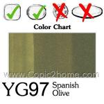YG97 - Spanish Olive