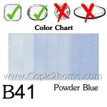 B41 - Powder Blue