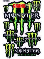 สติ๊กเกอร์ Monster 1