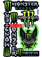 สติ๊กเกอร์ Monster 6