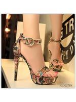 (พร้อมส่ง)รองเท้าคัทชู ส้นสูง แฟชั่น ราคาถูก มีไซด์ 37 สีดำ