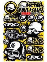 สติ๊กเกอร์ Metal Mulisha MM 561