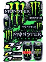 สติ๊กเกอร์ Monster 5