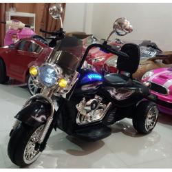 ลดพิเศษ : รถแบตเตอรี่เด็ก มอเตอร์ไซค์ฮาเล่ 2 มอเตอร์ คันใหญ่
