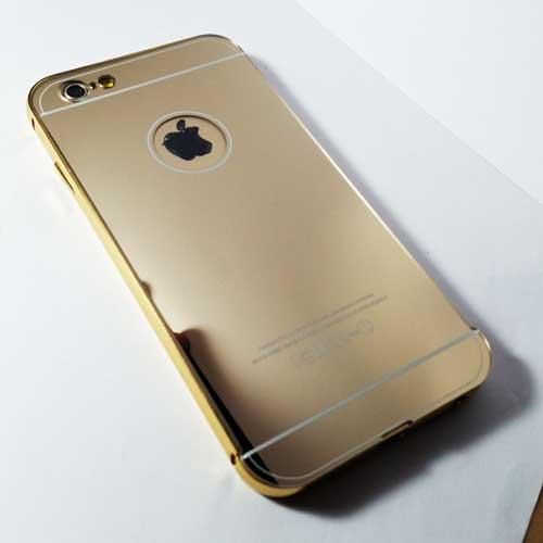 เคสไอโฟน 6 บัมเปอร์มีแผ่นหลัง
