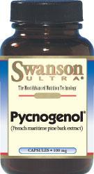 Swanson Vitamins - Pycnogenol 100 mg 30 Capsules