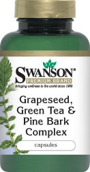 Swanson Premium - Grapeseed, Green Tea & Pine Bark Complex