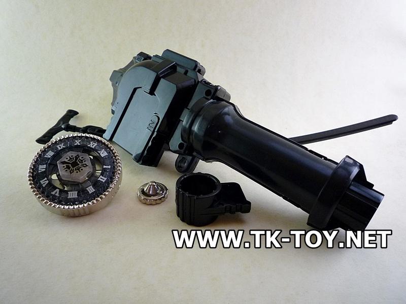 เบย์เบลดนาฬิกา+ด้ามจับ [BASALT HOROGIUM145WD+Luncher Grip]