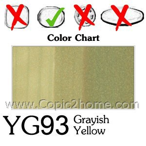 YG93 - Grayish Yellow
