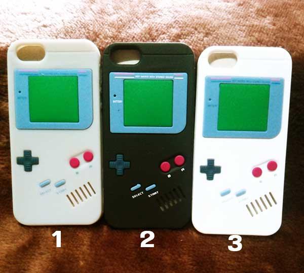 case iphone 4/4s ซิลิโคน Game Boy