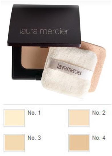 Laura Mercier Foundation Powder แป้งผสมรองพื้น เบอร์ 01 # สำหรับผิวขาว Fair To light skin