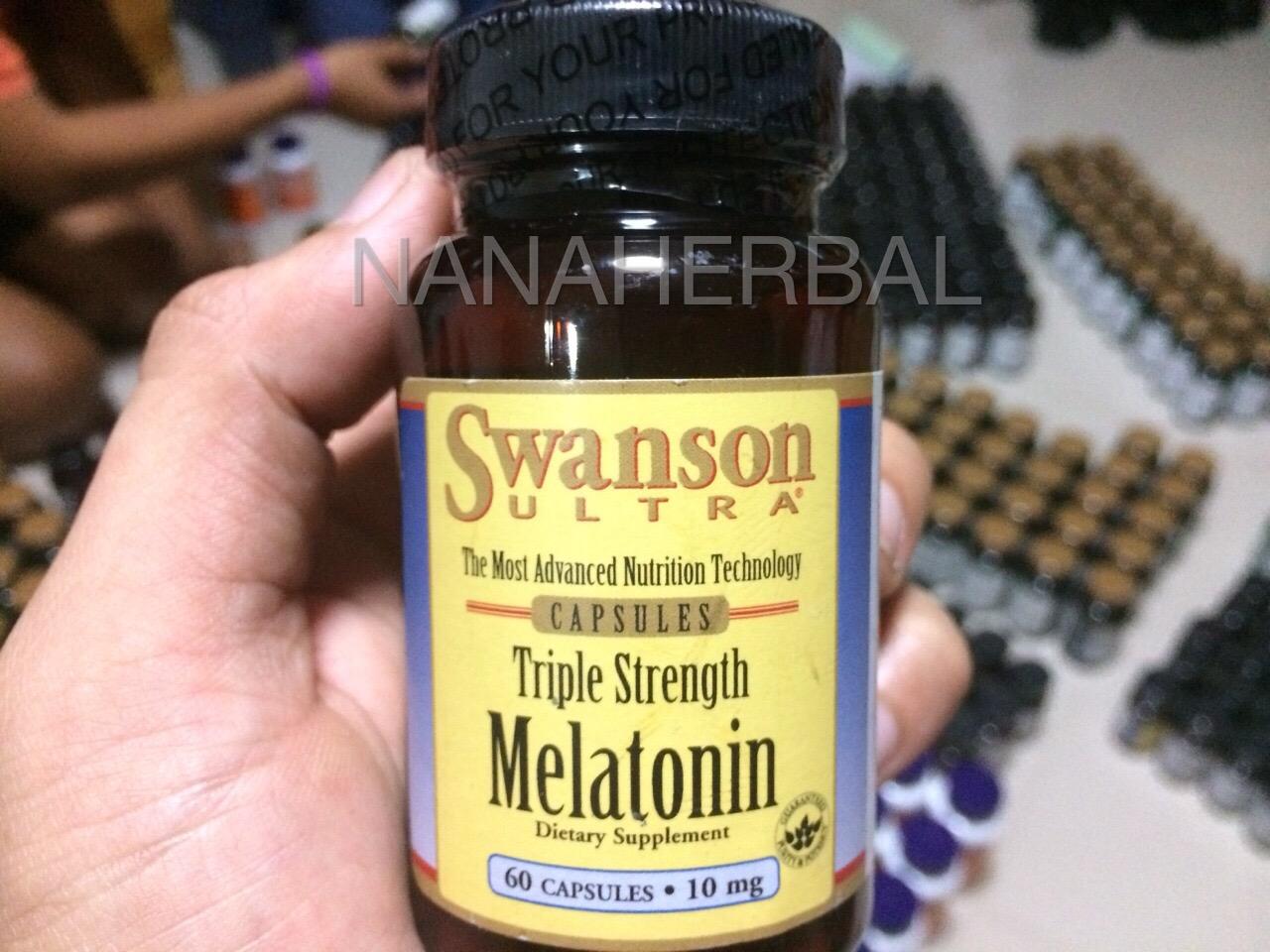 Swanson Melatonin 10 mg