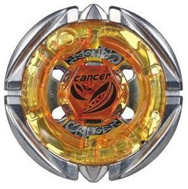 [TAKARA TOMY] Flame Cancer D125RF is an Attack-type Beyblade