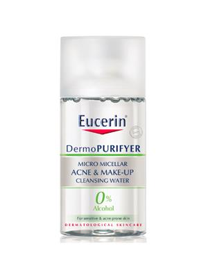EUCERIN Dermopurifyer Acne & Make-up Cleansing Water 125 ml.