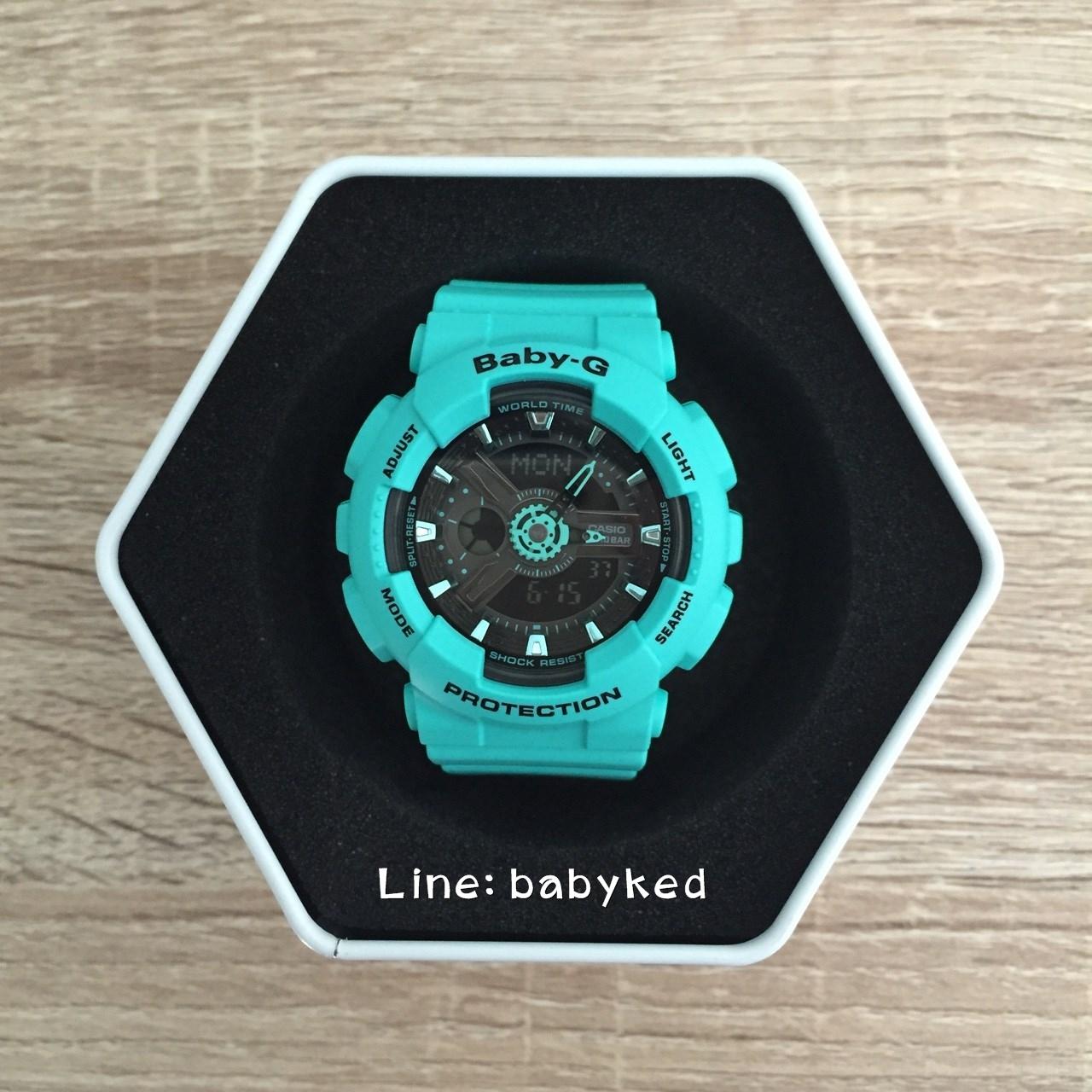 Baby-G BA-111-3 สีเทอคว๊อย ของแท้100% ของใหม่อุปกรณ์ครบ 3,700 บาท