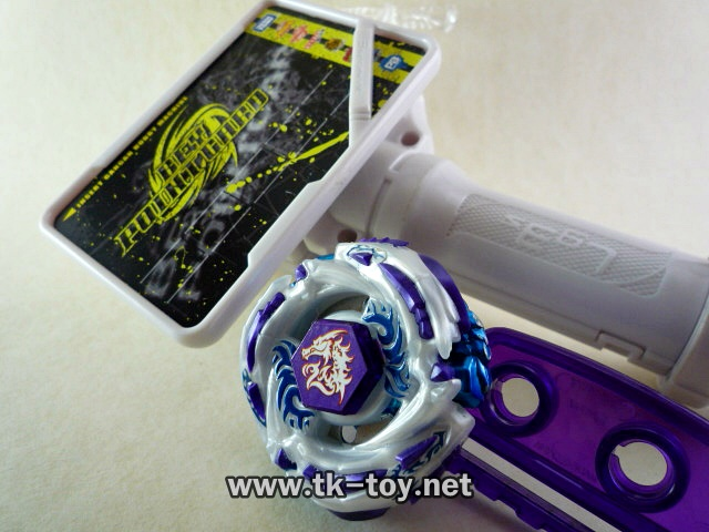 Beyblade Ultimate Meteo L-Drago Absorb DF105LRF WITH Launcher Grip [TAKARA TOMY]