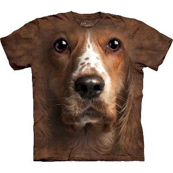 Big Face Dog Welsh Springer Spaniel T-shirts
