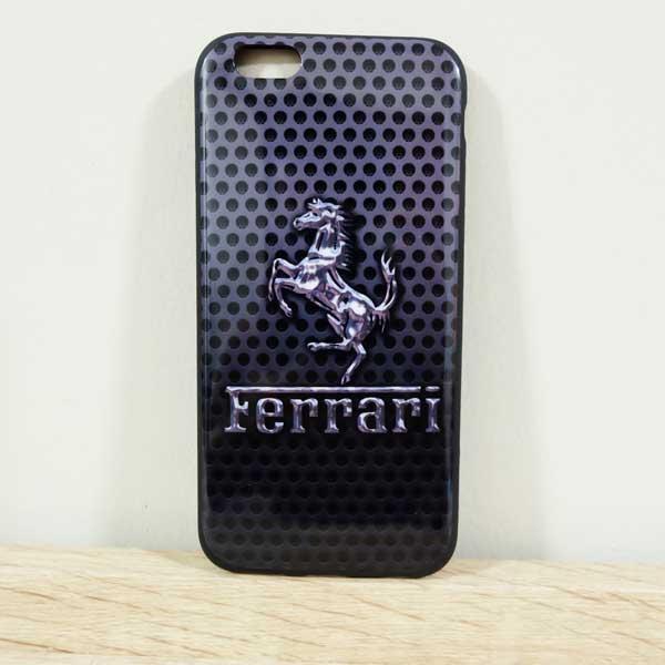 เคสไอโฟน 6/6s เคสยางลาย Ferrari