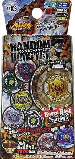 เบย์เบลด TAKARA TOMY METAL FUSION BEYBLADE BB-109 Random Booster Vol. 7 Beat Lynx