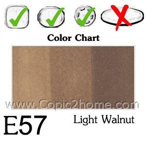 E57 - Light Walnut