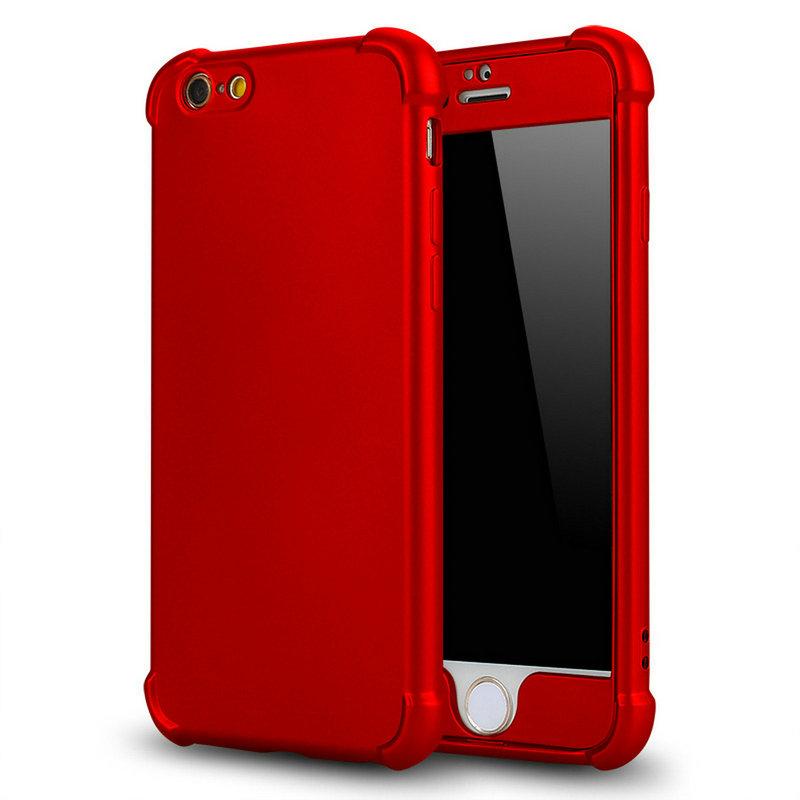 เคสประกบ tpu ไอโฟน 6/6S สีแดง