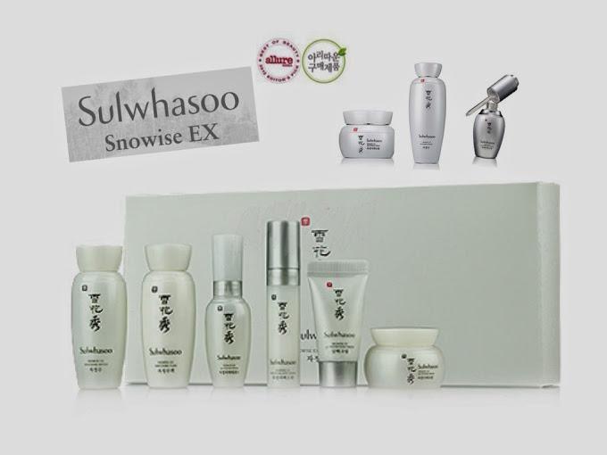 ชุดเซ็ทขนาดทดลอง SULWHASOO Snowise EX Kit 6 Itemsเซตขนาดทดลอง ครบคุณค่าบำรุงให้ผิวขาวใสดุจเกล็ดหิมะ นวัตกรรมจากโซลวาซู